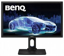 "Монитор Benq 27"" PD2700Q черный IPS LED 4ms 16:9 HDMI M/M HAS Pivot 20000000:1 300cd 178гр/178гр 2560x1440 DisplayPort QHD USB 6.9кг"