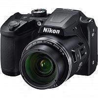 "Фотоаппарат Nikon CoolPix B500 черный 16Mpix Zoom40x 3"" 1080p SDXC/SD/SDHC CMOS 1x2.3 1minF turLCD HDMI/WiFi"