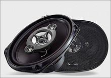 Колонки автомобильные Phantom PS-694 200Вт 91дБ 4Ом 15x23см (6x9дюйм) (ком.:2кол.) коаксиальные четырехполосные