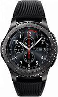 "Смарт-часы Samsung Galaxy Gear S3 Frontier SM-R760 1.3"" Super AMOLED титан матовый (SM-R760NDAASER)"