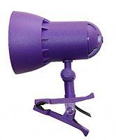 Светильник Трансвит НАДЕЖДА1MINI (NADEZHDA1MINI/VIO) настольный на прищепке E27 фиолетовый 40Вт