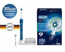 Зубная щетка электрическая Oral-B Smart 4 4000 белый