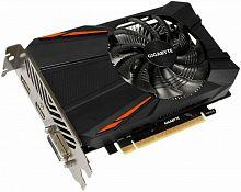 Видеокарта Gigabyte PCI-E GV-N105TD5-4GD nVidia GeForce GTX 1050TI 4096Mb 128bit GDDR5 1290/7008 DVIx1/HDMIx1/DPx1/HDCP Ret