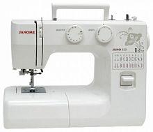 Швейная машина Janome Juno 523 белый/цветы