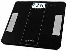 Весы напольные электронные Polaris PWS1860DGF макс.180кг черный