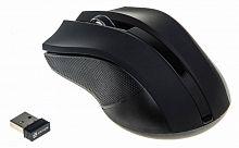 Мышь Oklick 615MW черный оптическая (1000dpi) беспроводная USB (2but)