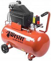 Компрессор поршневой Wester LE 050-150 OLC масляный 206л/мин 50л 1500Вт красный