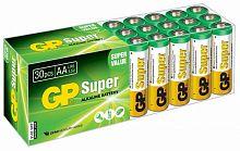 Батарея GP Super Alkaline 15A LR6 AA (30шт)
