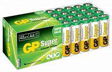 Батарея GP Super Alkaline 15A LR6 AA (40шт)