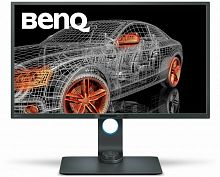 "Монитор Benq 32"" PD3200Q серый VA LED 4ms 16:9 DVI HDMI M/M матовая HAS Pivot 20000000:1 300cd 178гр/178гр 2560x1440 DisplayPort QHD USB"