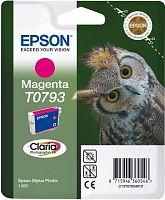 Картридж струйный Epson T0793 C13T07934010 пурпурный (11.1мл) для Epson P50/PX660