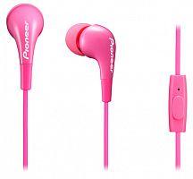 Гарнитура вкладыши Pioneer SE-CL502T 1.2м розовый проводные в ушной раковине (SE-CL502T-P)