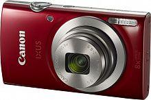 """Фотоаппарат Canon IXUS 185 красный 20Mpix Zoom8x 2.7"""" 720p SD CCD 1x2.3 IS el 1minF 0.8fr/s 25fr/s/NB-11LH"""