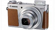 "Фотоаппарат Canon PowerShot G9 X Mark II серебристый/коричневый 20.9Mpix Zoom3x 3"" 1080p SDXC CMOS IS opt 5minF TouLCD 6fr/s RAW 60fr/s HDMI/WiFi/NB-13L"