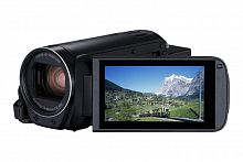 "Видеокамера Canon Legria HF R86 черный 32x IS opt 3"" Touch LCD 1080p 16Gb XQD Flash/WiFi"