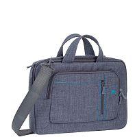 "Сумка для ноутбука 13.3"" Riva 7520 серый полиэстер (7520 GREY)"