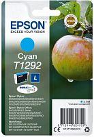 Картридж струйный Epson T1292 C13T12924012 голубой (474стр.) (7мл) для Epson SX420W/BX305F