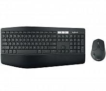 Клавиатура + мышь Logitech MK850 Perfomance клав:черный мышь:черный USB беспроводная BT slim Multimedia