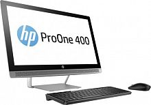 "Моноблок HP ProOne 440 G3 23.8"" Full HD i5 7500T (2.7)/8Gb/500Gb 7.2k/HDG630/DVDRW/Windows 10 Professional 64/WiFi/BT/клавиатура/мышь/Cam/черный/серебристый 1920x1080"