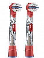 Насадка для зубных щеток Oral-B Kids Stages Starwars EB10K (упак.:2шт) Plak Control 3D/Excel/Professional Care/Plak Control Ultra/ D Dysney/Oxy Jet 3D center