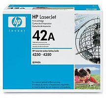 Картридж лазерный HP Q5942A черный (10000стр.) для HP LJ 4250/4350