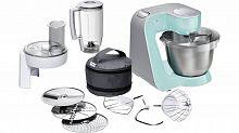 Кухонный комбайн Bosch MUM58020 1000Вт мятный/серебристый