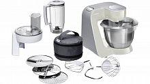 Кухонный комбайн Bosch MUM58L20 1000Вт серый/серебристый