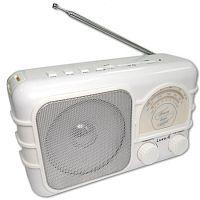 Радиоприемник портативный Сигнал Luxele РП-111 белый USB SD