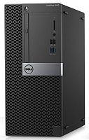 ПК Dell Optiplex 5050 MT i7 7700 (3.6)/8Gb/1Tb 7.2k/HDG630/DVDRW/Linux/GbitEth/клавиатура/мышь/черный/серебристый