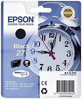 Картридж струйный Epson T2701 C13T27014022 черный (350стр.) (6.2мл) для Epson WF7110/7610/7620