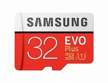 Флеш карта microSDHC 32Gb Class10 Samsung MB-MC32GA/RU EVO PLUS + adapter