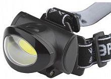 Фонарь налобный Эра GB-601 черный 5Вт лам.:светодиод. AAAx3 (Б0027818)