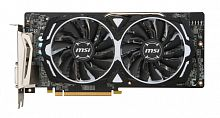 Видеокарта MSI PCI-E Radeon RX 580 ARMOR 8G OC AMD Radeon RX 580 8192Mb 256bit GDDR5 1366/8000 DVIx1/HDMIx2/DPx2/HDCP Ret