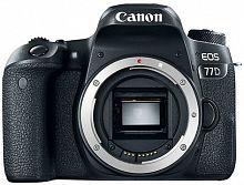 """Зеркальный Фотоаппарат Canon EOS 77D черный 24.2Mpix 3"""" 1080p Full HD SDXC Li-ion"""