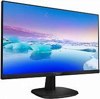 "Монитор Philips 23.8"" 243V7QDSB (00/01) черный IPS LED 16:9 DVI HDMI матовая 250cd 1920x1080 D-Sub FHD 3.5кг"