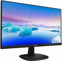 "Монитор Philips 27"" 273V7QDSB (00/01) черный IPS LED 16:9 DVI HDMI матовая 250cd 1920x1080 D-Sub FHD 4.5кг"