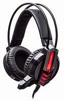 Наушники с микрофоном Oklick HS-L450G ARROW черный 2.2м мониторные оголовье (HS-L450G)