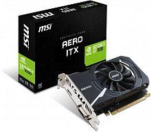 Видеокарта MSI PCI-E GT 1030 AERO ITX 2G OC nVidia GeForce GT 1030 2048Mb 64bit GDDR5 1265/6000 DVIx1/HDMIx1/HDCP Ret