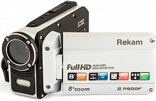 "Видеокамера Rekam DVC-380 серебристый IS el 2.7"" 1080p SD+MMC Flash/Flash"