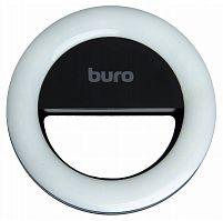 Вспышка для селфи Buro RK-14-BK черный для для планшетов и смартфонов