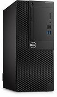 ПК Dell Optiplex 3050 MT i3 6100 (3.7)/4Gb/500Gb 7.2k/HDG530/DVDRW/Linux/Eth/240W/клавиатура/мышь/черный