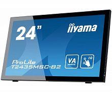 "Монитор Iiyama 23.6"" ProLite T2435MSC-B2 черный VA LED 8ms 16:9 DVI HDMI M/M Cam матовая 250cd 178гр/178гр 1920x1080 D-Sub DisplayPort FHD USB Touch 5.8кг"