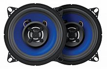 Колонки автомобильные Digma DCA-K402 (без решетки) 100Вт 90дБ 4Ом 10см (4дюйм) (ком.:2кол.) коаксиальные двухполосные