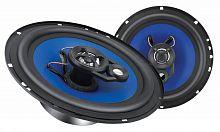 Колонки автомобильные Digma DCA-K602 (без решетки) 150Вт 90дБ 4Ом 16.5см (6 1/2дюйм) (ком.:2кол.) коаксиальные двухполосные