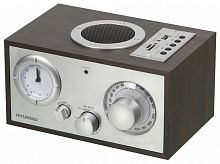 Радиоприемник настольный Hyundai H-SRS220 вишня USB SD/microSD
