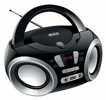 Аудиомагнитола Hyundai H-PCD100 черный/серебристый 4Вт/CD/CDRW/MP3/FM(dig)/USB