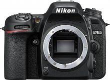 """Зеркальный Фотоаппарат Nikon D7500 черный 20.9Mpix 3.15"""" 4K 4K SDXC Li-ion"""