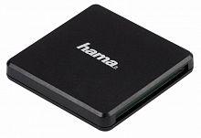 Устройство чтения карт памяти USB3.0 Hama Multi H-124022 черный
