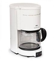 Кофеварка капельная Braun KF47/1 1000Вт белый