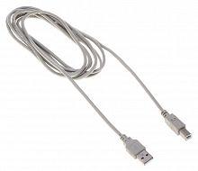 Кабель Buro BHP RET USB_BM30 USB A(m) USB B(m) 3м серый блистер